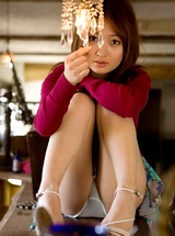 Maiko Kazano lovely Asian teen
